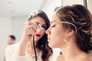 Maquillaje con aerógrafo Jessie